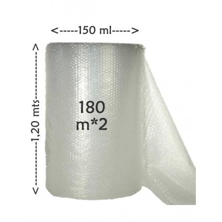 Bobina Plástico Burbuja 40gr/m²