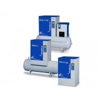 PKE7,5-10 DX 200, Compresor Puska  de tornillo con secador .