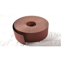 Rollo lija 120mm x 50 mts. Tela. Gramo 80