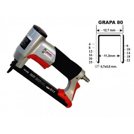 Grapadora grapa 80 hasta 16 mm