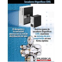 Secadores frigoríficos serie COOL (Puska)